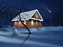 Christmas magic stock image