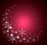 Christmas magic background Stock Image