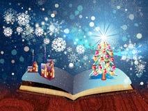 Christmas Magic Book Royalty Free Stock Photos
