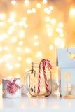 Christmas magic decoration Stock Photos