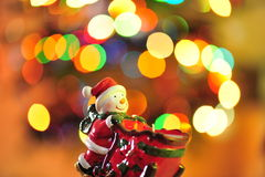 Christmas magic with Frosty Royalty Free Stock Photography