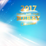 Christmas magic glow. Royalty Free Stock Images