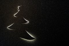 Christmas magic night concept. Abstract holiday background. royalty free stock photos