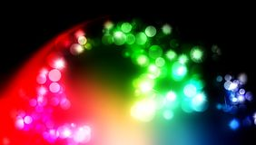 Christmas magic sparkle, light dots, vector bokeh effect on glitter. background wallpaper. Many uses for advertising, book page, paintings, printing, mobile stock illustration