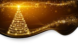 Christmas magic tree Stock Image