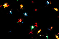 Christmas magical lights Royalty Free Stock Images