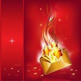 Christmas mail royalty free illustration