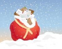 Christmas mail Stock Photography
