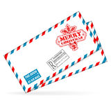 Christmas Mail Royalty Free Stock Images