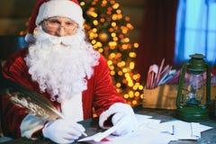 Christmas mail Stock Photo
