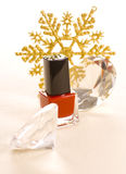 Christmas Make up Royalty Free Stock Photos