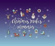 Christmas Makes Memories. Stock Image