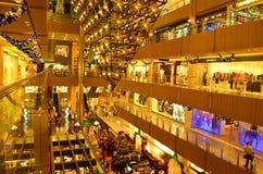 Christmas Mall Sale royalty free stock photography