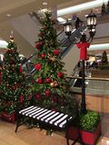 Christmas in Mall Stock Photo