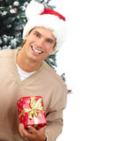 Christmas man Stock Photography