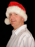 Christmas Man Stock Photos