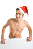 Christmas man. Stock Image