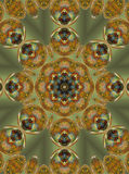 Christmas mandala. Abstract fractal mandala background very suitable for christmas Stock Image