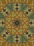 Christmas mandala. Abstract fractal mandala background very suitable for christmas royalty free illustration