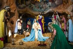 Christmas manger scene Stock Photography