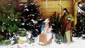 Christmas Manger scene Stock Photography