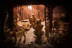 Christmas Manger Scene Stock Photos