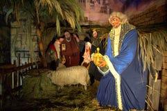 Christmas manger scene Royalty Free Stock Images