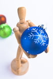 Christmas Mannequin Stock Image