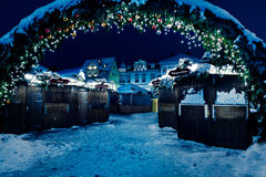 Christmas market Stock Photo