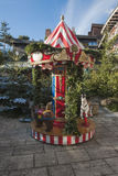Christmas market carousel Royalty Free Stock Images