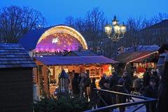 Christmas market baden-baden. Christmas market in Baden-Baden near thermal center Royalty Free Stock Photography