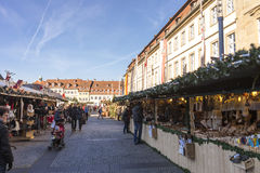 Christmas market in Bamberg Royalty Free Stock Photos