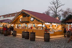 Christmas Market in Berlin Stock Images