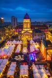 Christmas market in Berlin Royalty Free Stock Photos