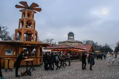 Christmas market in Berlin. Germany stock photos