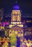 Christmas market in Berlin Royalty Free Stock Images