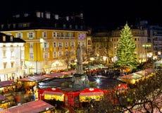 Christmas market in Bolzano Royalty Free Stock Image