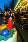 Christmas market in Bonn, Germany Stock Photo