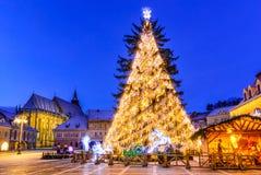 Christmas Market, Brasov, Romania Stock Image