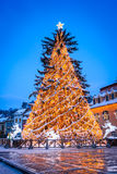 Christmas Market, Brasov, Romania Stock Photos