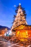 Christmas Market, Brasov, Romania Royalty Free Stock Image