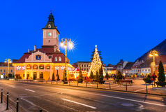 Christmas Market, Brasov, Romania Royalty Free Stock Images
