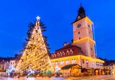 Christmas Market, Brasov, Romania Royalty Free Stock Photo