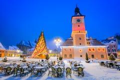 Free Christmas Market, Brasov, Transylvania - Romania Stock Photos - 65198663