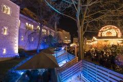 Christmas market in Braunschweig Stock Photo