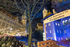 Christmas market in Braunschweig Stock Images