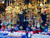 The Christmas Market of Bressanone on Duomo square, Alto Adige. Italy stock photo