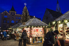 Christmas market in Bressanone, Italy Stock Images
