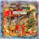 Christmas Market in Brugge, Belgium. Stock Images
