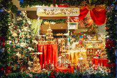 Christmas Market in Brugge, Belgium. Royalty Free Stock Photos